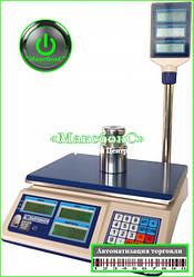 Весы торговые  на 30 кг ВТНЕ1 - 30Т2К (Дозавтоматы).