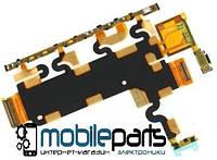 Шлейф (Flat cable) Sony C6902 | C6903 | C6906 | Xperia Z1 с кнопкой громкости и включения, микрофоном