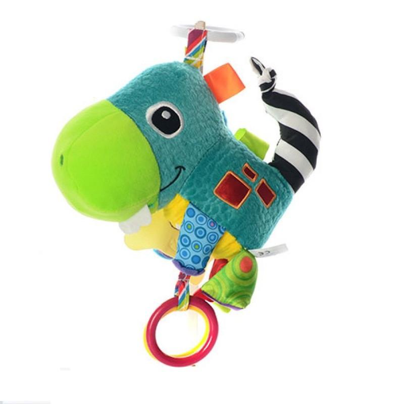 Детская Подвеска на коляску E12604 (плюш,шуршалка,погремушка) 3 вида