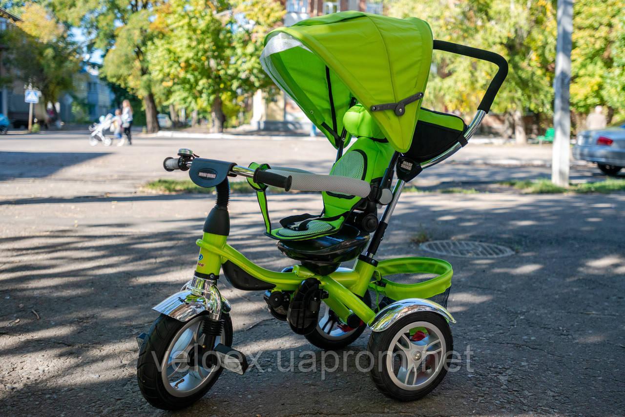 Велосипед Ardis Maxi Trike с надувными колесами детский зеленый