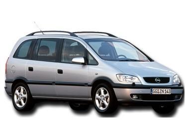 Лобовое стекло на Opel Zafira A (Минивэн) (1999-2005)