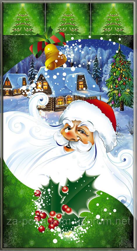 Упаковка для новорічних подарунків Дід Мороз 20х35 см