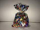 Упаковка для новорічних подарунків Дід Мороз 20х35 см, фото 2