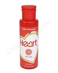 Ремувер для кутикулы и огрубевшей кожи Heart Germany - Orange