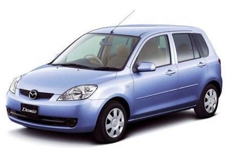 Лобовое стекло на Mazda Demio (Минивэн) (1998-2003) , фото 2