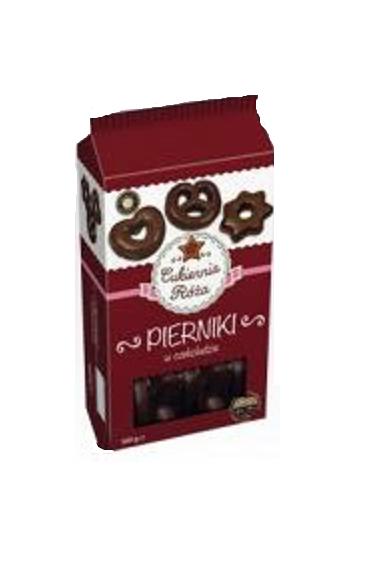 Cukiernia Roza Pierniki w czekoladzie 500 g
