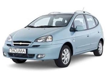 Лобовое стекло на Chevrolet Tacuma/Rezzo (Минивэн) (2000-2008)