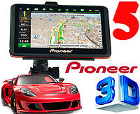 "Новинка! GPS навигатор Pioneer Pi5120 5"" Win CE 6.0 +Bluetooth +AV +Карты"