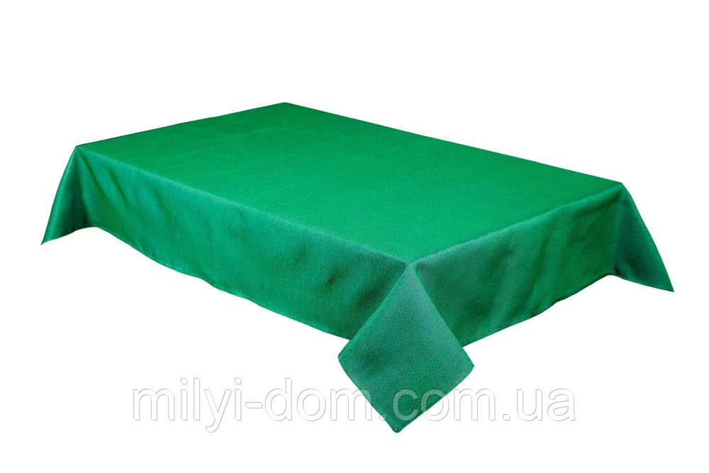 """Скатерть """"Зеленая"""", гобелен, 137*260 см"""
