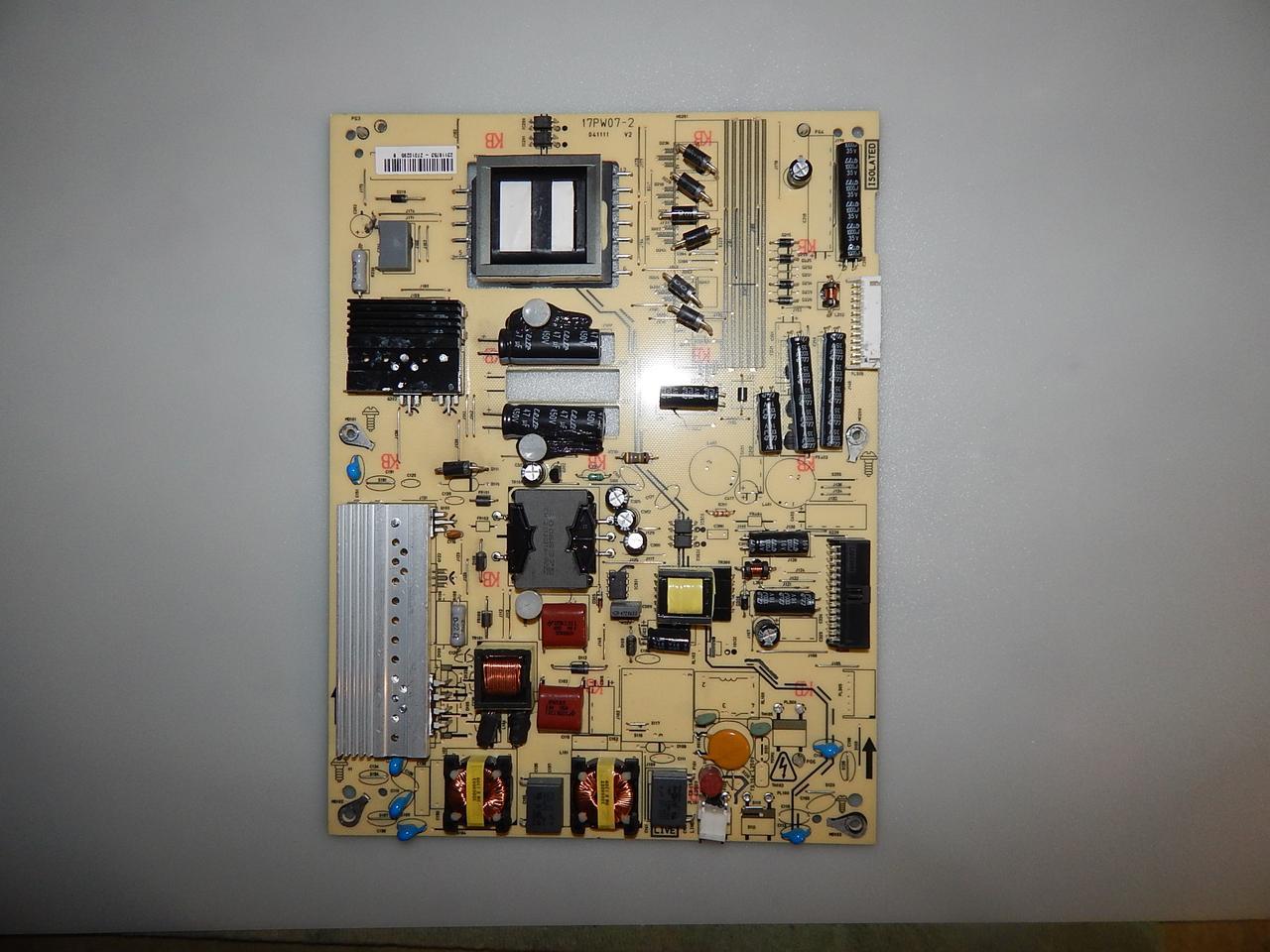 Блок питание 17PW07-2 к телевизору TELEFUNKEN  T32R970LED