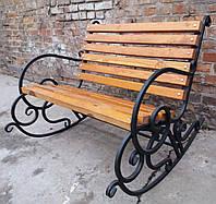 Кресло-качалка кованое 1м, фото 1
