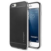 Чехол Spigen для iPhone 6s / 6 Neo Hybrid, Satin Silver, фото 1