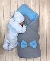 Зимний комплект Mini+Angel голубой, фото 1