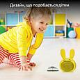 Bluetooth колонка Promate Bunny Yellow, фото 4