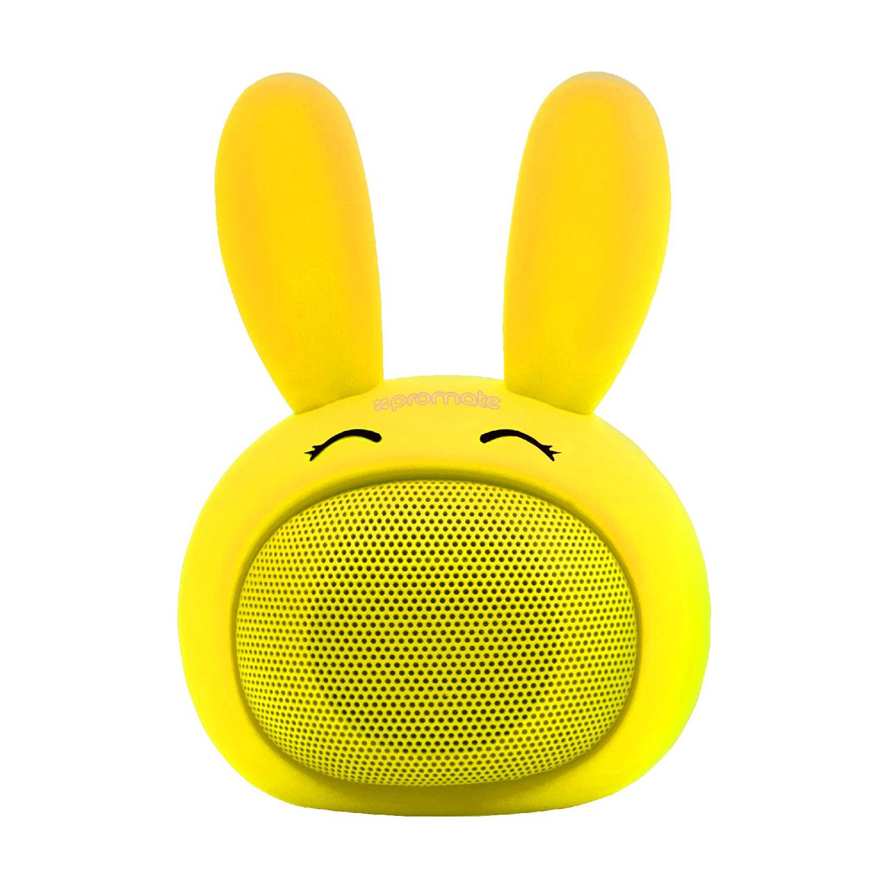 Bluetooth колонка Promate Bunny Yellow