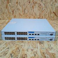 Сетевой коммутатор 3Com Switch 3824 ( 3C17400 ) 24 + 4 port