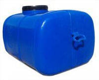 Ємність прямокутна, харчова 125л, 755х510х460см, блакитна, ф-24 см, До