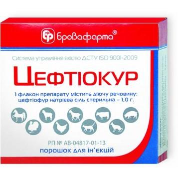 Цефтиокур уп № 2 ветеринарный антибиотик широкого спектра действия