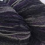 Artistic yarn 8/1, Тёмная Лилия (Black Lila), фото 2