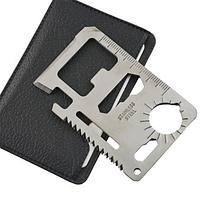 Мультитул 11 в 1 в форме кредитной карты #100152