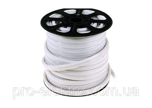 Светодиодный NEON 12V smd 3528 120° LEDs/m120 <8W 8*16 IP65 Белый, фото 2