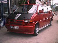 Губа на решетку (под покраску) Volkswagen T4