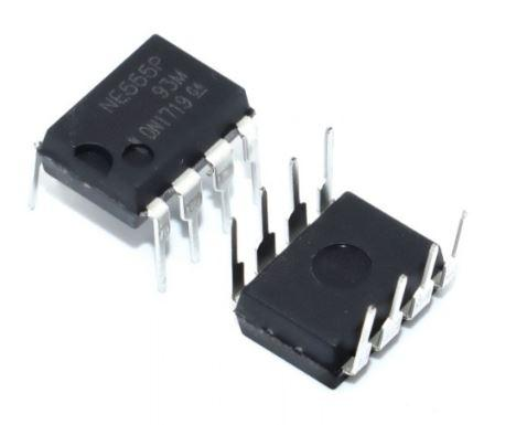 Микросхема таймер NE555P NE555 DIP8. 1шт.