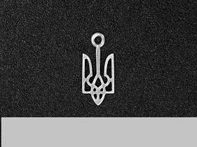 Кулон Герб Украины посеребрение 002