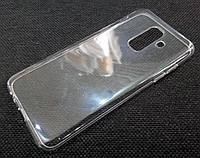Чехол для Samsung Galaxy A6+ A605 2018 / A6 Plus 2018 силиконовый прозрачный