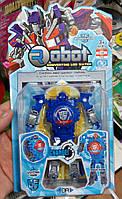 Часы - игрушка трансформер Robot Watch на блистере.