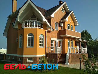 Балюстрада белая в Козин | Балясины симметричные в Киевской области 8