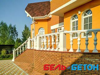 Балюстрада белая в Козин | Балясины симметричные в Киевской области 9