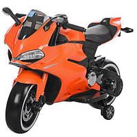 Bambi Мотоцикл Bambi M 3467EL-7 Orange (M 3467EL), фото 1