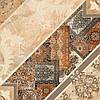 43х43 Керамическая плитка пол коричневый темный Carpets Карпетс