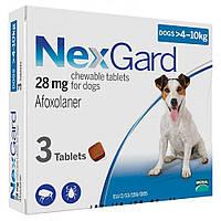 Boehringer Ingelheim NexGard (НексГард) для собак M (4-10кг) 1 таблетка