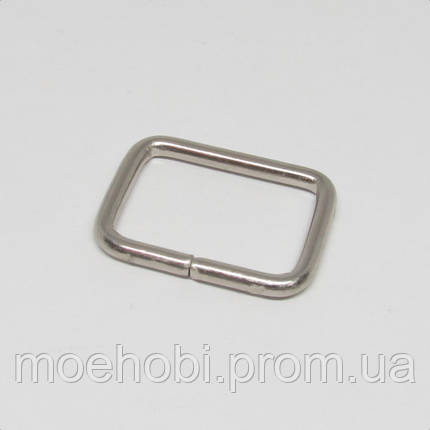 Рамки для сумок (20мм) никель,  4142, фото 2