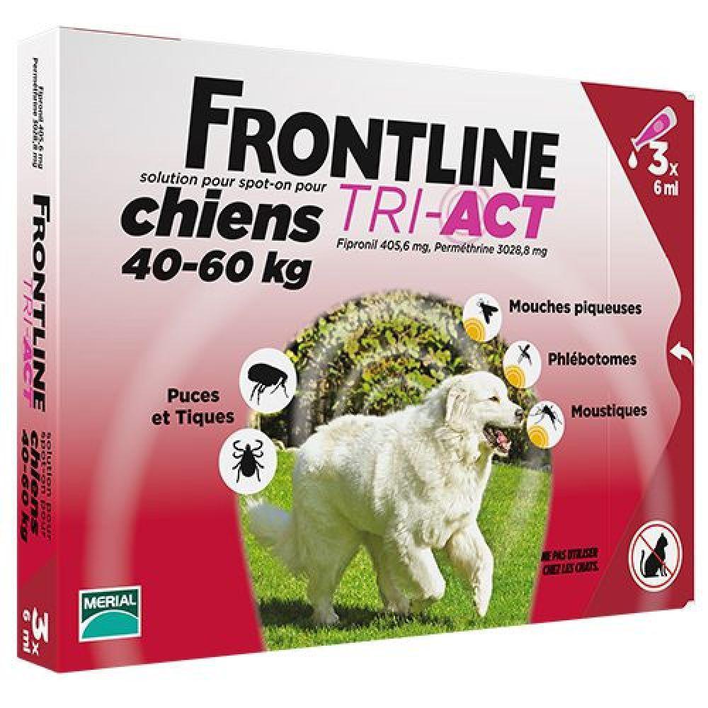 Boehringer Ingelheim Frontline TRI-AKT (Фронтлайн) для собак, XL (40-60кг)