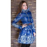 Женское пальто с юбкой, зима и деми