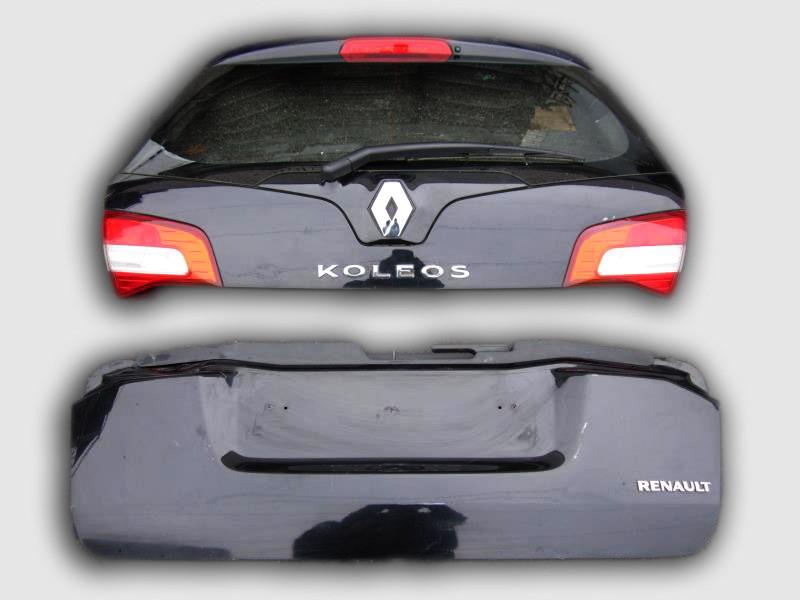 Двери задние  (багажник) Рено Колеос б/у комплект 2 шт.