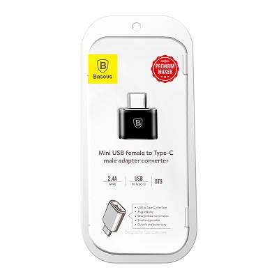 Адаптер Type-C to USB, Baseus, USB BS-5610