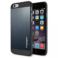 Чехол Spigen для iPhone 6s / 6 Aluminum Fit, Blue, фото 1