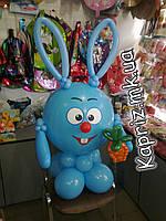 Смешарики из шаров ( Крош,Нюша, Ежик), фото 1
