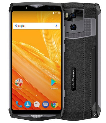 "Смартфон Ulefone Power 5 6/64Gb Black, 21+5/8+5Мп, 13000 мАч, 6.0"" IPS, Helio P23, 2sim, 8 ядер"