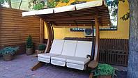 Тент на качели (крыша + сидение).
