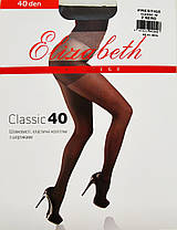 Колготки Elizabeth Prestige 40 den classic Nero р.2 (00314) | 5 шт., фото 2