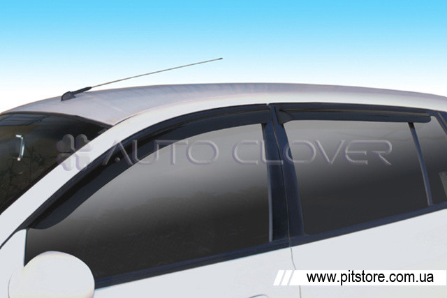 Auto Clover Дефлекторы окон на HYUNDAI MATRIX '01-10 (накладные)
