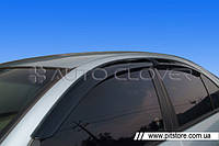 Auto Clover Дефлекторы окон на NISSAN ALMERA (N16) '00-06 (накладные)