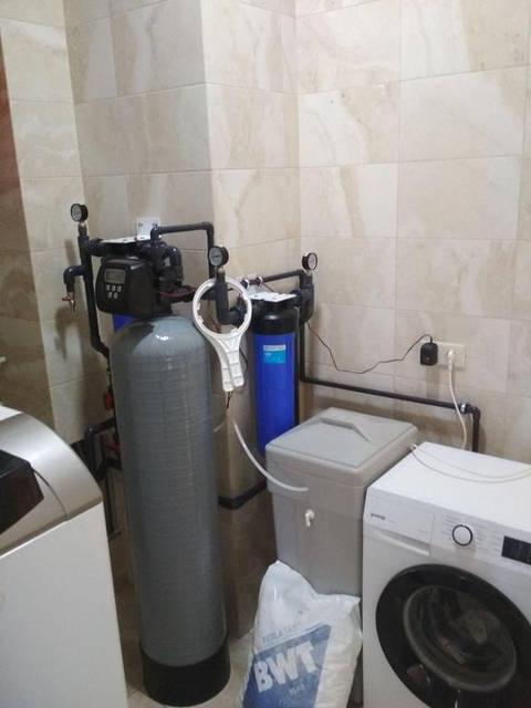 Комплексная очистка воды из скважины для коттеджа