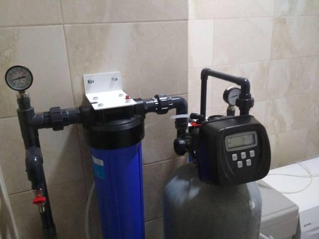 Комплексная очистка воды из скважины для коттеджа -1