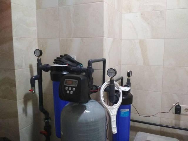 Комплексная очистка воды из скважины для коттеджа 3